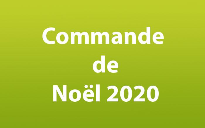 Commande de Noel 2020